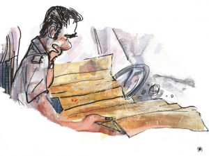 Na Serra das Lianas – ilustração